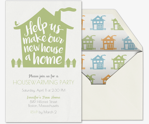 Free housewarming party invitations evite new home party invitation stopboris Choice Image