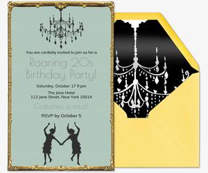 Theme Party Online Invitations Evitecom