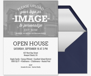 Open house free online invitations emblem box open house upload your own image real estate invitation friedricerecipe Images