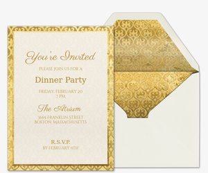 Free dinner party invitations evite wined and dined invitation stopboris Gallery