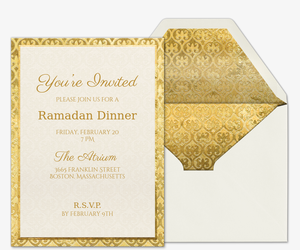 Wined and Dined Invitation