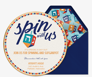 Spin With US Invitation