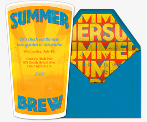 Summer Brew Invitation