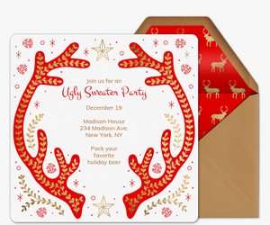 free holiday party invitations evite com
