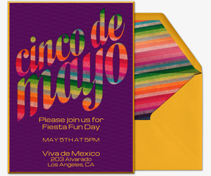 Viva Mexico Invitation