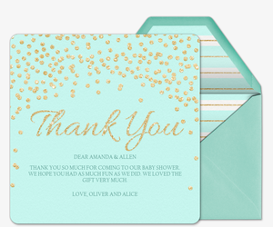 evite com send premium online thank cards thank you notes