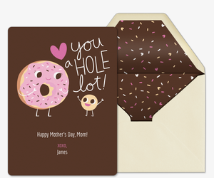 Donut Mom Invitation
