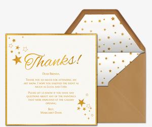 evite com send premium online thank cards thank you notes