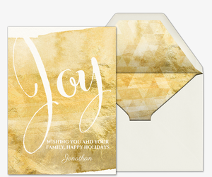 happy holidays card joy to you invitation - Holiday Cards Online