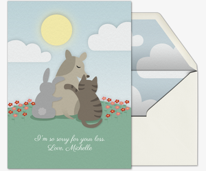 Pet Condolence Invitation