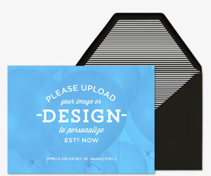 Upload Design Landscape Invitation
