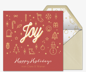 holiday cards free online invitations
