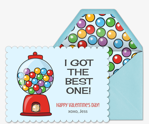 The Best One Card Invitation