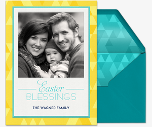 Easter Blessings Invitation