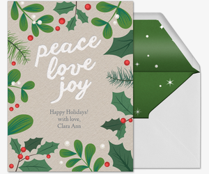 Holiday Border Invitation