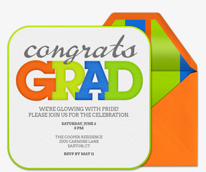 Congraduations Invitation