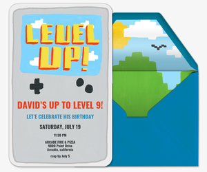 Level Up Invitation