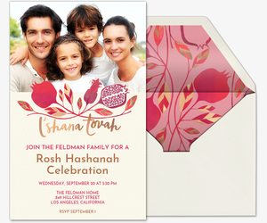 lshanah Tovah Invitation