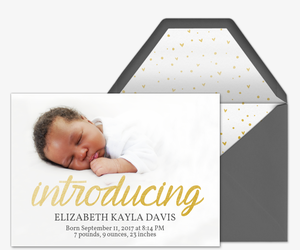 birth announcements free online invitations