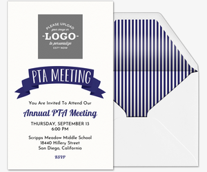 PTA Meeting Invitation