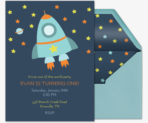 Spaceship Invitation