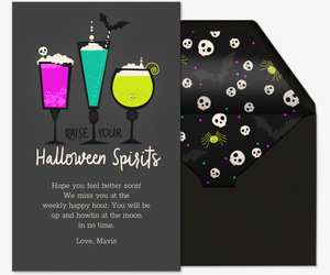 Halloween Spirits Invitation