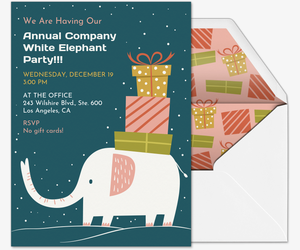 Free Gift Exchange Online Invitations | Evite.com