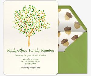 Free Reunion Invitations - Class & Family Reunion Invitations ...