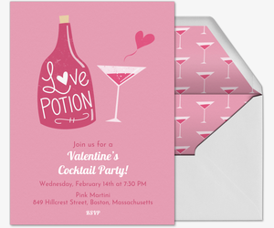 Valentine Potion Invitation