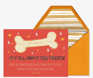 All About the Treats Invitation