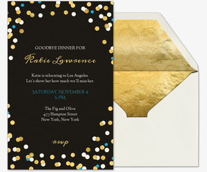 invitation for a dinner party