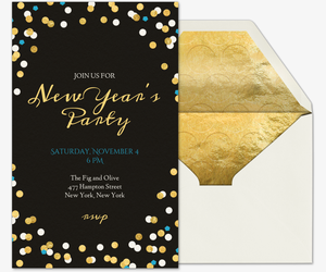 Free New Years Eve Party Invitations Evitecom