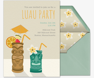free pool party invitations evite com