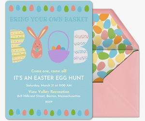 Easter Free Online Invitations