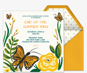 Free Outdoor Fun Online Invitations
