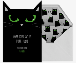 Cat Eyes Card