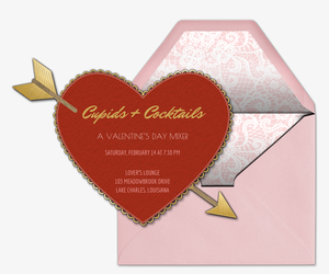 Cupid Invitation