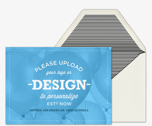 Design Your Own Landscape Invitation
