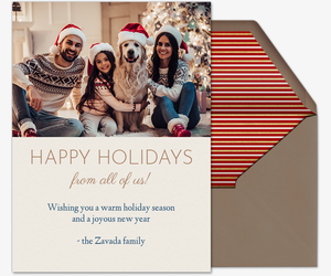 Family Holiday Invitation