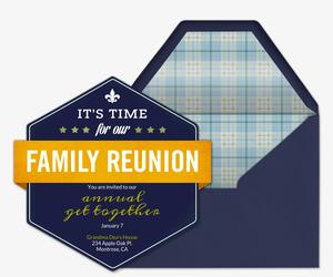 free reunion invitations class family reunion invitations evite