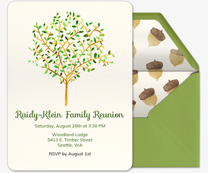 Free Family Gathering Online Invitations Evite