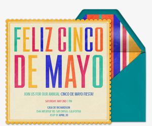 free cinco de mayo party invitations evite