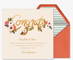 Premium Congratulations Cards | Evite
