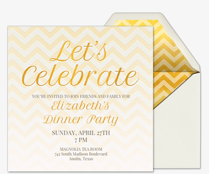 free rehearsal dinner invitations evite