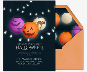 Free Online Halloween Costume Party Invitations