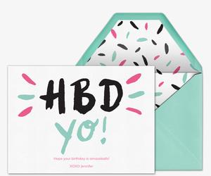 Birthday cards free online invitations invitation filmwisefo