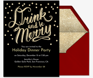 Office Christmas Party Invitation.Free Holiday Party Invitations Evite