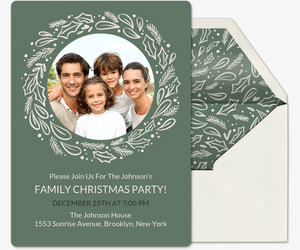 Holiday Invite Invitation