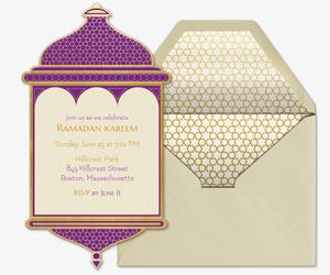 free online ramadan invitations evite com