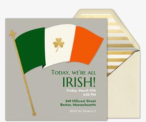 Free St  Patrick's Day Online Invitations | Evite